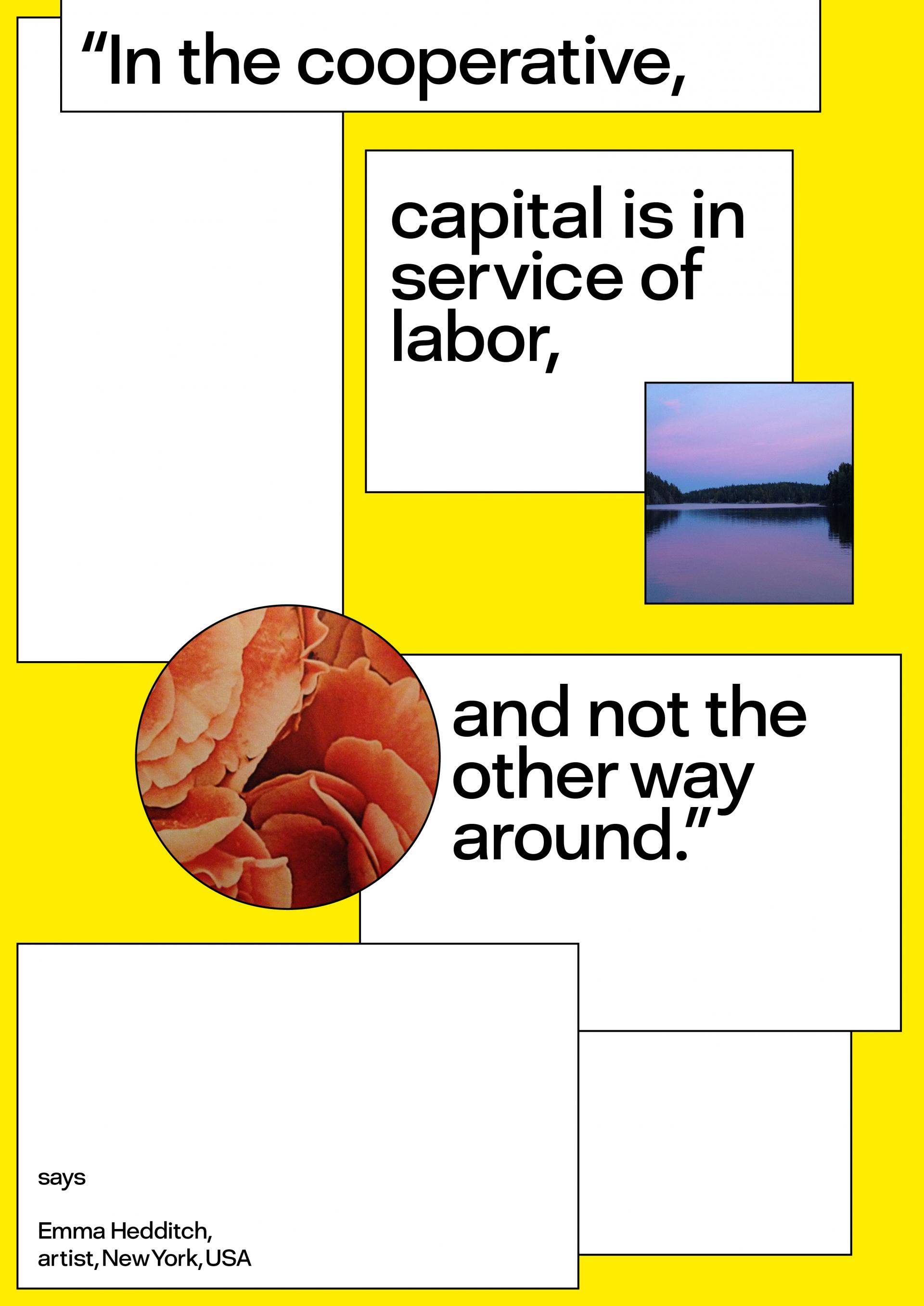 Sara Kaaman Collective Economies – posters