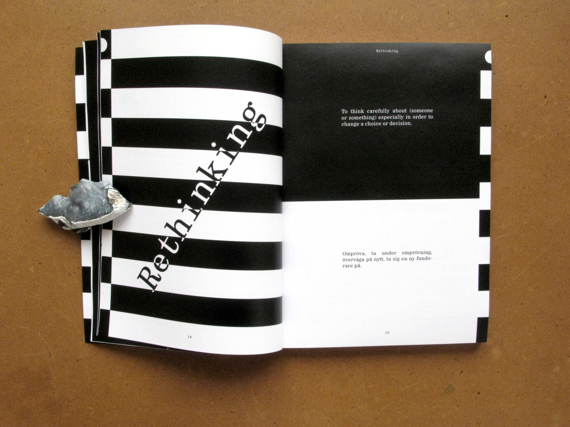 Sara Kaaman Radical Re Re Re Re Re-thinking – book design