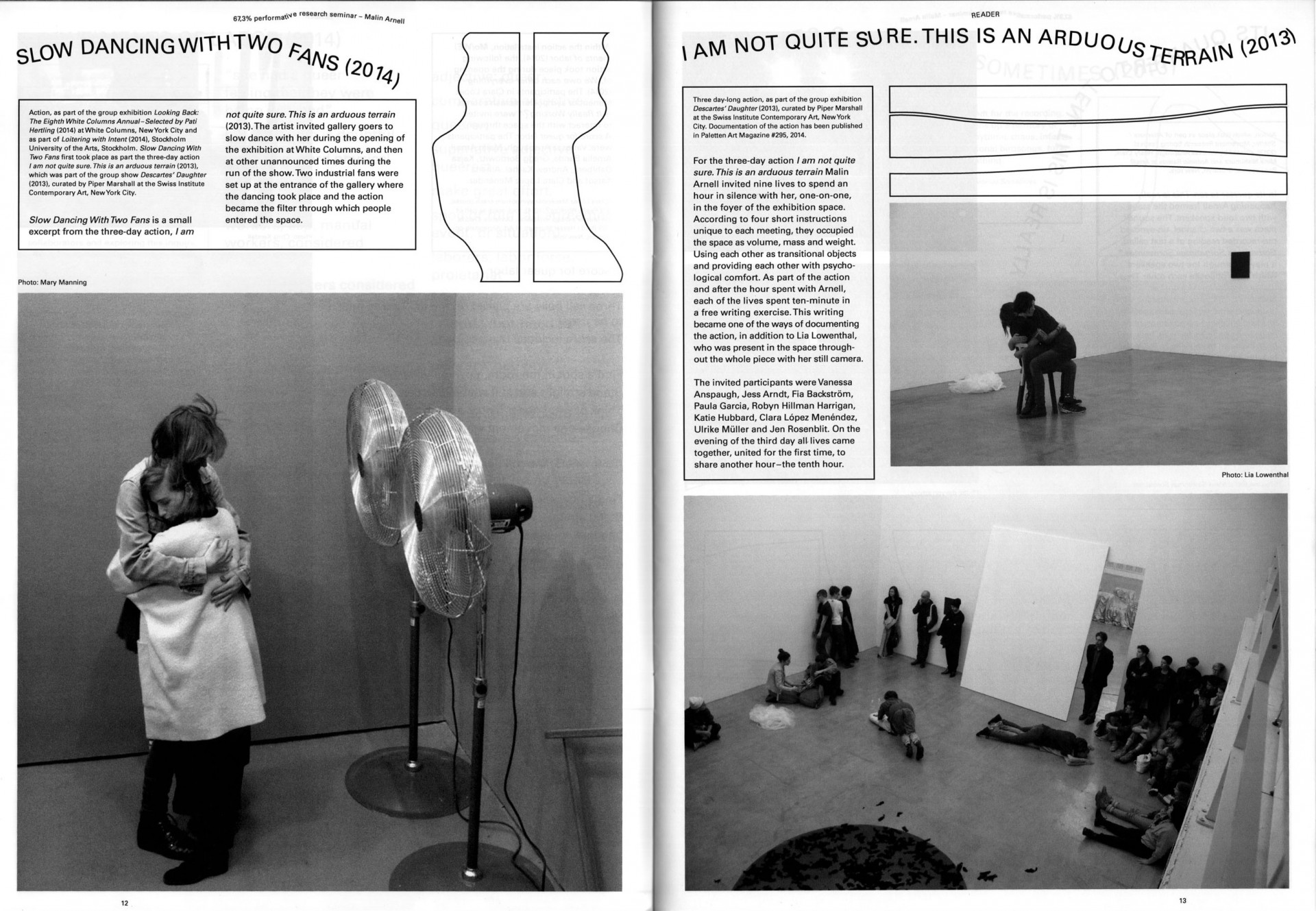 Sara Kaaman 67,3% performative research seminar – publication